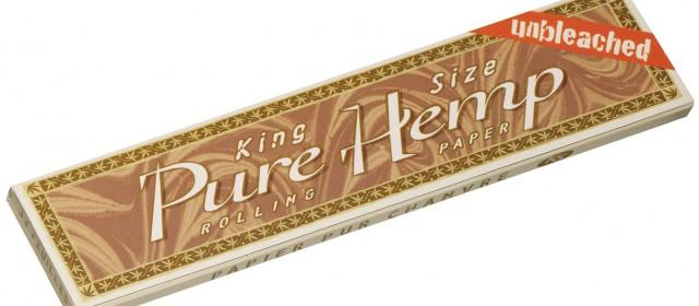 Pure Hemp King Size Ακατέργαστο