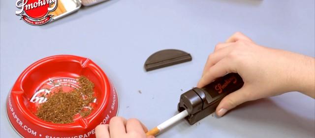 Πώς να γεμίσεις σωλήνες τσιγάρων